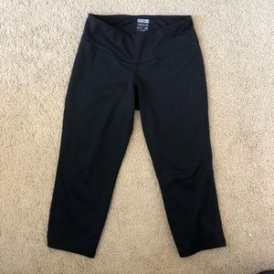New Balance Black Capri Leggings